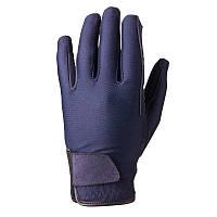 Перчатки для верховой езды детские Basic Fouganza