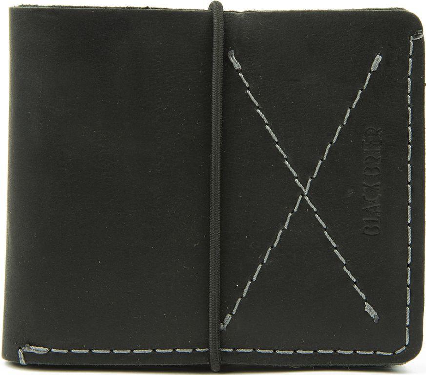 f639d35b5793 Ультратонкий мужской кожаный кошелек Black Brier П-8-35 черный ...
