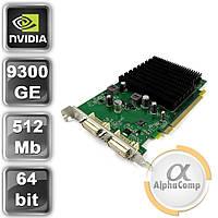 Видеокарта PCI-E NVIDIA Fujitsu GeForce 9300GE (256MB/DDR2/64bit/2xDVI) б/у