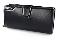 Baellerry Стильный мужской клатч из качественной экокожи в черном цвете