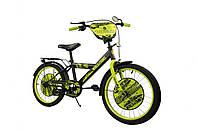"""Велосипед двухколесный 16 дюймов """"World of Tanks"""" со звонком, зеркалом, ручным тормозом"""
