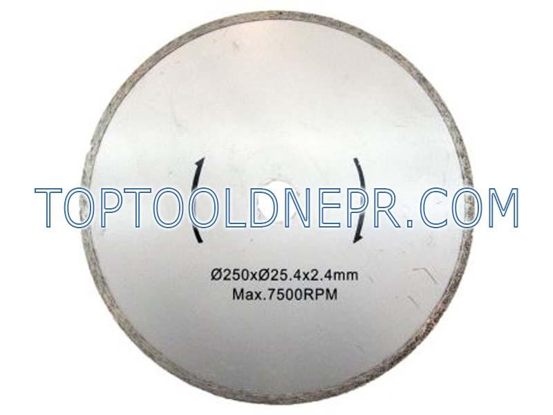 Круг отрезной по бетону алмазный 250х25,4 Eurotec TC 103