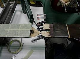Склейка излома головы грифа Fender CD-60 CE  2
