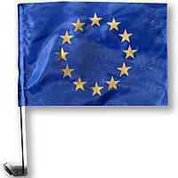 Флажок (прапорець) евро на машину