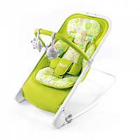 Детский шезлонг-качалка TILLY BT-BB-0005 зеленый