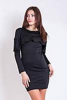 Жіноче чорне коктейльне плаття Leona (XS-XXL)