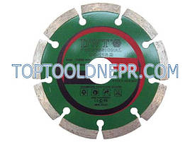Круг отрезной по бетону алмазный 115B S DWT