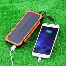 Solar power bank - портативні сонячні батареї