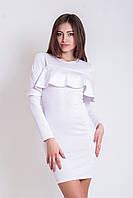 Жіноче біле коктейльне плаття Leona (XS-XXL)