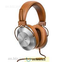 Наушники накладные Pioneer Se-ms 5т с микрофоном коричневый 95fb6755aa3c7