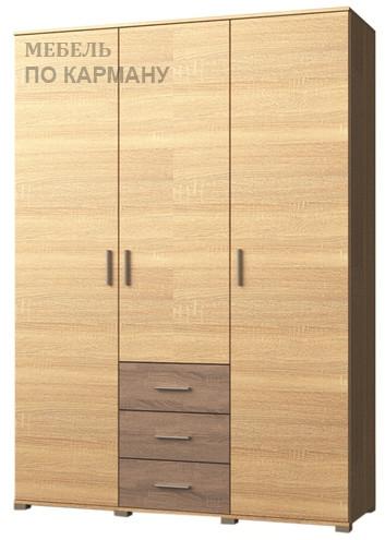 Шкаф на три двери с ящиками Бриз ШП-5