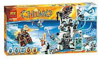 Конструктор Bela 10296 аналог LEGO Chima Ледяная крепость Сэра Фангара 668 дет, фото 1
