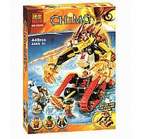 Конструктор Bela 10295 аналог LEGO Chima Огненный Лев Лавала 449 деталей, фото 1