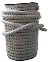 Канат хлопчатобумажный Ø 26 мм - 25 м спортивный, декоративный