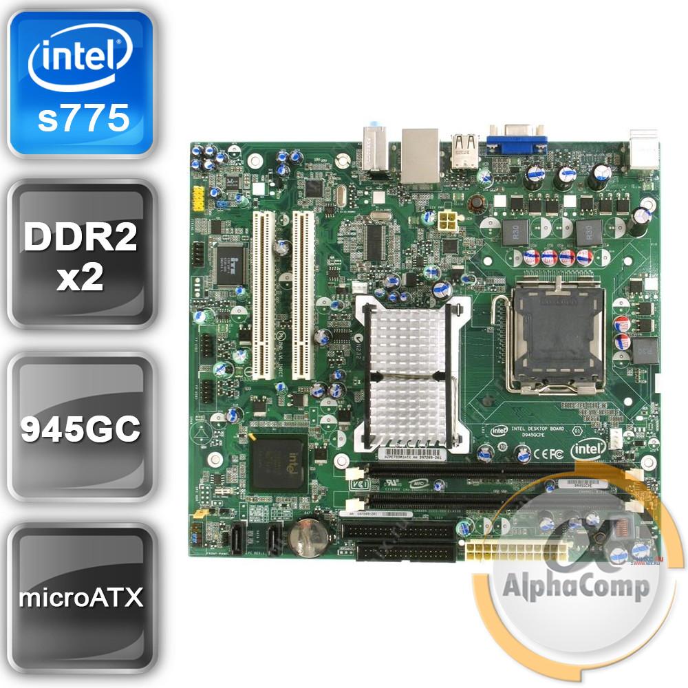 Материнская плата Intel D945GCPE (s775/945GC/2xDDR2) БУ