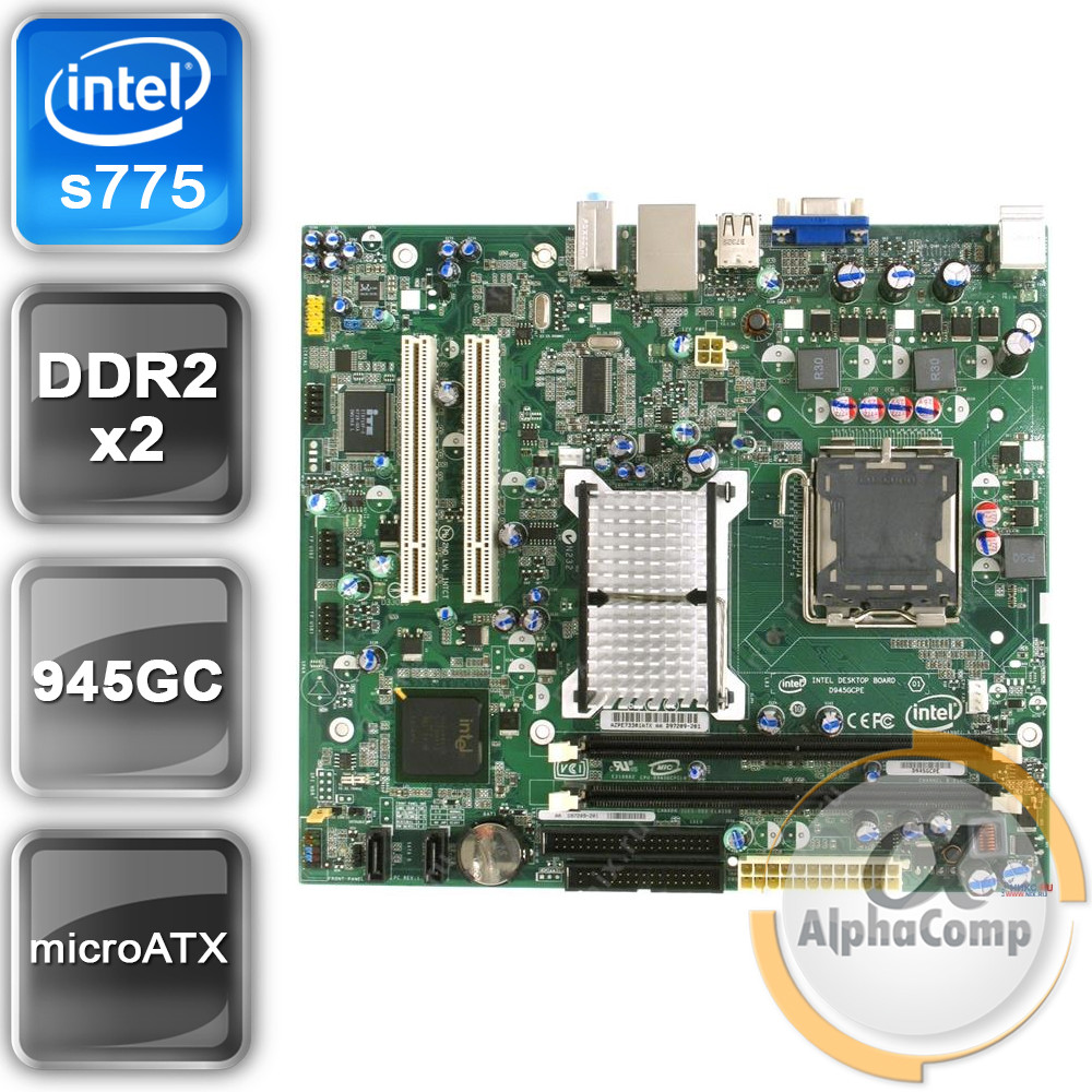 Intel D945GCPE Drivers for Windows