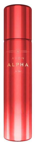 Парфюмированный дезодорант спрей для тела Avon Alpha for Her, Эйвон Альфа для Нее, 75 мл, 07082