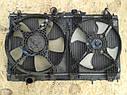 Радиатор охлаждение двигателя Mitsubishi galant 8 1996-2003г.в. 2.4 бензин, фото 3