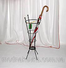 Зонтовница Бамбук. Кованая подставка под зонты