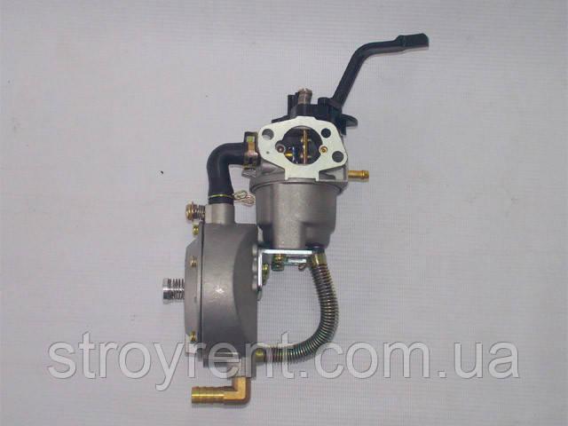 Карбюратор газ-бензин для генератора 2-3кВт, Honda GX-160