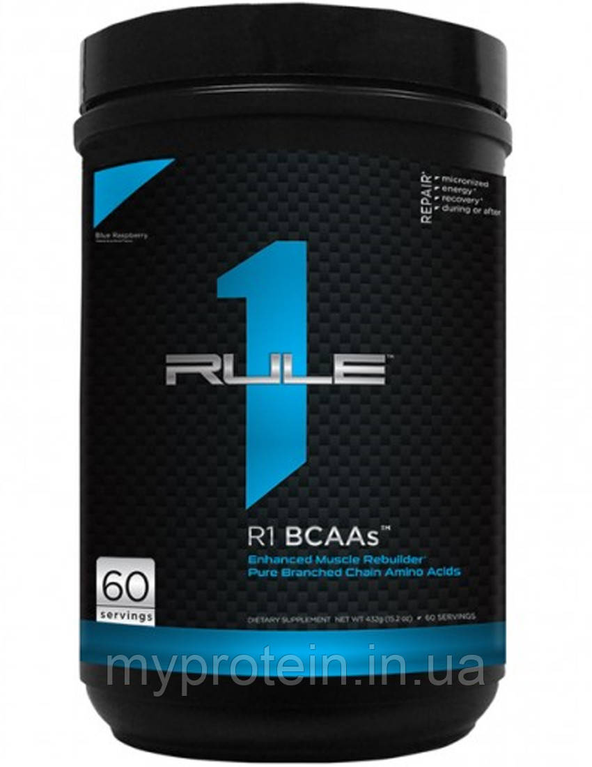 R1 (Rule One) BCAA BCAAs 444 g