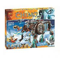 Конструктор Bela 10297 аналог LEGO Chima Ледяной мамонт-штурмовик Маулы 603 дет, фото 1