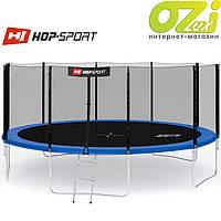 Батут HOP-SPORT 16FT (488 см) с внешней сеткой