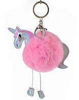 Аксессуар меховой Fluffy Unicorn, розовый  555810