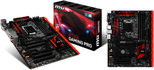 "Материнская плата MSI B150A Gaming Pro s.1151 DDR4  ""Over-Stock"""