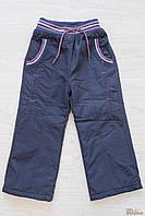 Штаны утеплённые для девочки на подкладке (98 см)  No name 2125000534909