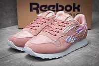Женские стильные кроссовки Reebok Classic, розовые