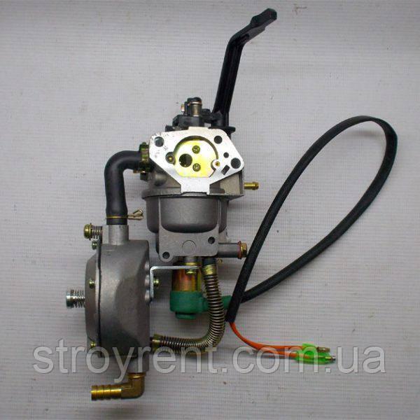 Газовый карбюратор для генератора 4-7кВт, GX-390 188f