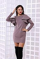 Платье с воланами (3 цвета), фото 1