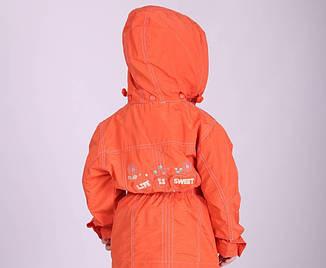 Ветровка демисезонная для девочки Кико, № 1068, фото 2