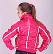 Детская демисезонная куртка для девочки BADIAN на флисе, № 2389, фото 2