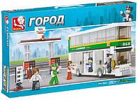 """Конструктор SLUBAN """"Двухэтажный автобус"""" 403  дет,  M38-B0331, фото 1"""