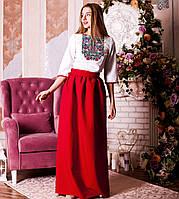 Вишите плаття Бойківське (габардин), фото 1
