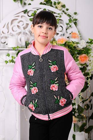 Детская демисезонная куртка для девочки «Доминика-1», фото 2
