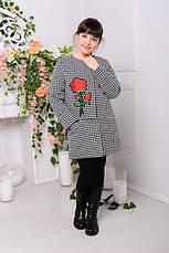 Пальто шерстяное для девочки «Диана», 134-140р., фото 3