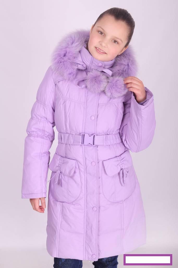 Пальто зимнее для девочки Donilo, наполнитель-пух.| 116-128р.