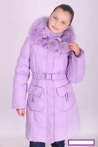 Пальто зимнее для девочки Donilo, наполнитель-пух.| 116-128р., фото 2