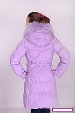 Пальто зимнее для девочки Donilo, наполнитель-пух.| 116-128р., фото 3