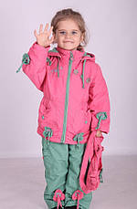 Детский костюм демисезонный Кико на хлопковой основе, сумочка в комплекте, 1415, фото 2