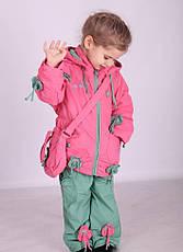 Детский костюм демисезонный Кико на хлопковой основе, сумочка в комплекте, 1415, фото 3