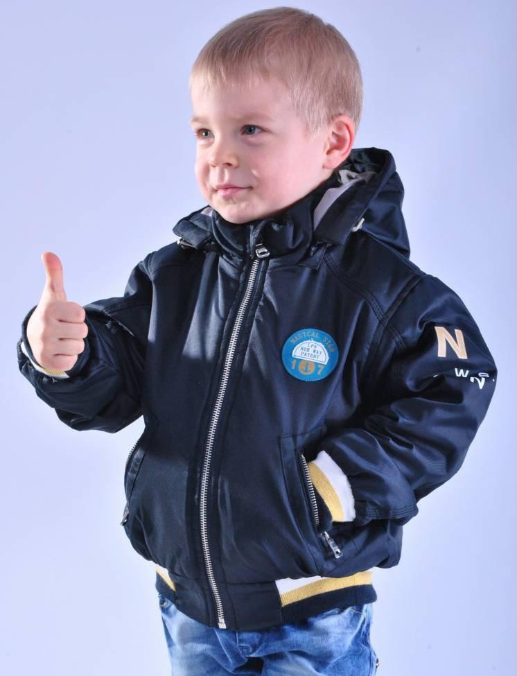 Куртка демисезонная для мальчика от Diwa Club (аналог Кико), 98-122