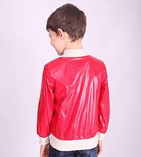 Ветровка детская для мальчика демисезонная х/б подкладка, 12048 | на рост от  98-130, фото 3
