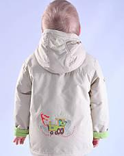 Куртка детская, демисезонная для мальчика на флисе от Diwa Club (аналог Кико) |  на рост от 80-104, фото 2