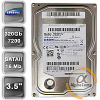 """Жесткий диск 3.5"""" 320Gb Samsung HD321HJ (16Mb/7200/SATAII) БУ"""