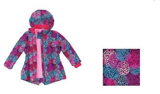 Детская демисезонная куртка для девочки  Baby Line, на рост 92-110 (мембрана), фото 2