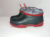 Ботинки резиновые детские Омега